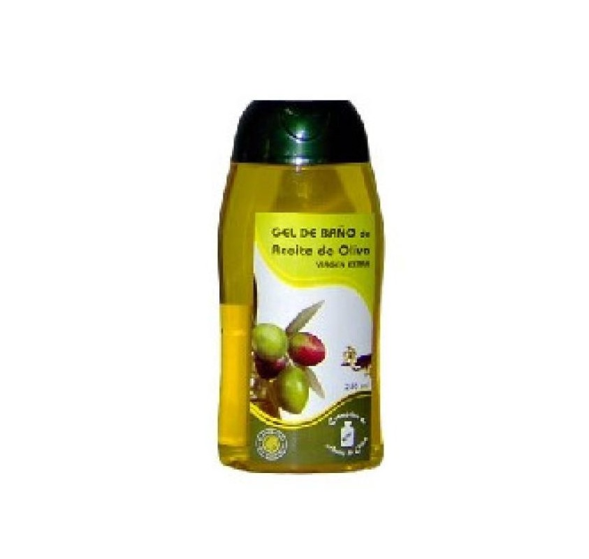 Bath and shower gel extra virgin olive oil