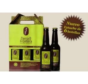 Cerveza artesanal Tierra de Frontera