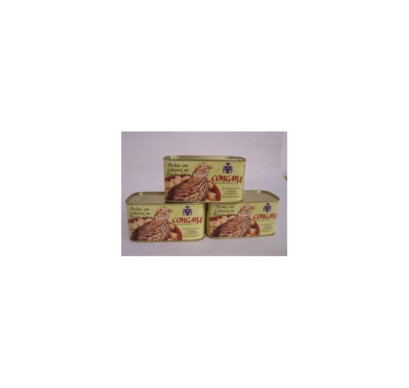 Beans with quail box 12