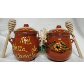 Orza ceramica de miel