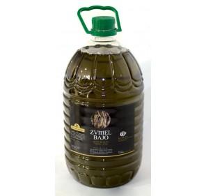 Zumel. Extra virgin olive oil from organic farming 5 L