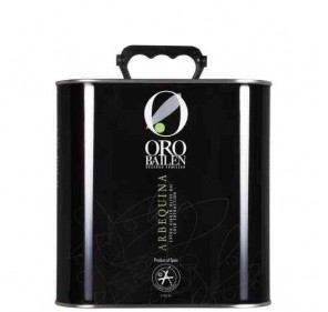 Virgin extra olive oil. Oro Bailén Arbequina 2.5L can