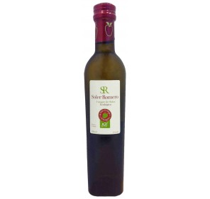 "Vinagre de sidra ecológico ""Soler Romero"". 250 ml."