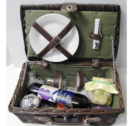 Cesta picnic mimbre 1