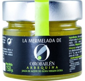 Jam Oro Bailen arbequina 150 gr.