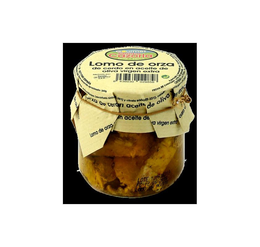 Lomo de orza en aceite de oliva virgen extra