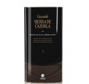 Sierra de Cazorla Guiradoli. Picual Olive oil. 5 liters tin