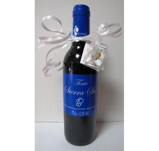 Miniatura vino tinto joven