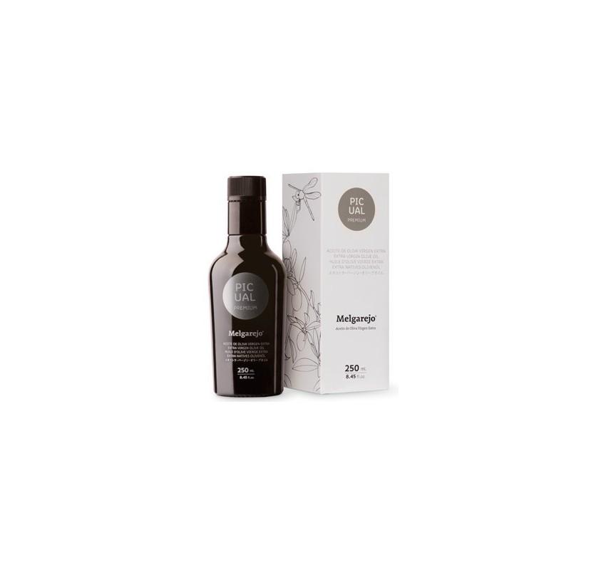 Melgarejo Premium. Aceite de oliva Picual. 250ML