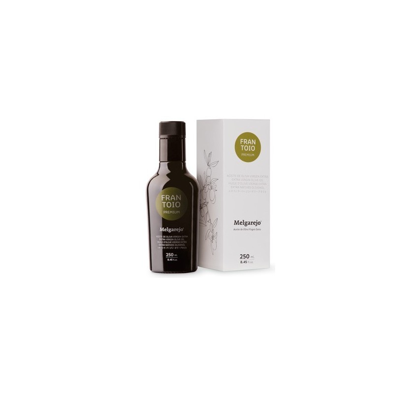 Melgarejo Premium. Aceite de oliva Frantoio 250 ML