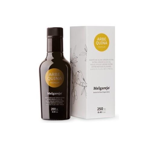Melgarejo Premium. Aceite de oliva Arbequina 250 ML