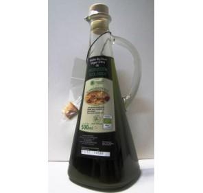 Almazara verde. Frasca de 500 ml.