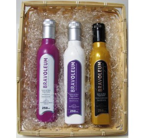 Bravoleum bandeja 3 botellas 250 ml