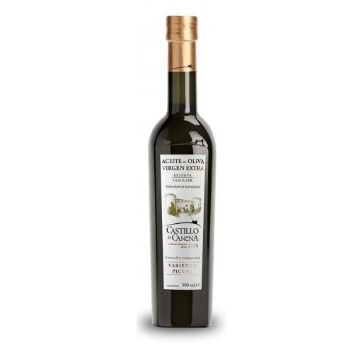 Castillo de Canena. Aceite de oliva Picual. Reserva Familiar. 12 botellas de 250ml.