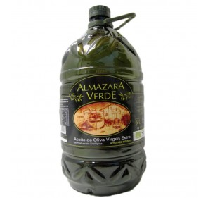 Almazara Verde ecológico. 3x5 litros