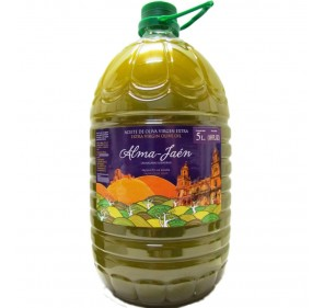 Alma Jaen. Picual Olive oil. Unfiltered. 5 Liters