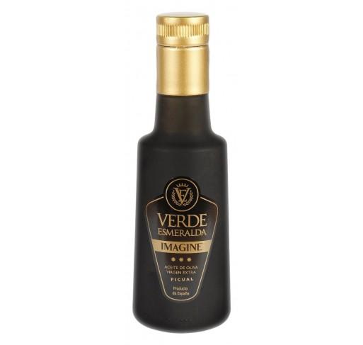 Verde Esmeralda Imagine. Aceite de Oliva Virgen Extra. Picual. 250 ml