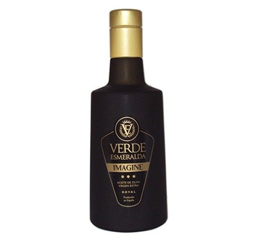 Verde Esmeralda Imagine. Aceite de oliva Royal. 500 ml