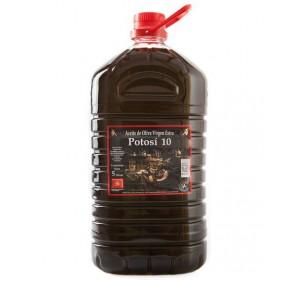 Potosí 10 picual, Denominación de origen Sierra de Segura. 3 x 5 litros.
