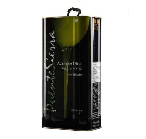 Puente Sierra. Picual Olive Oil. 5 Liters tin