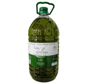 Extra virgin Olive oil. Casa del agua. 5 Liters