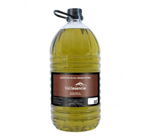 Aceite de oliva Virgen Extra. Valdesencia variedad picual. 5Litros