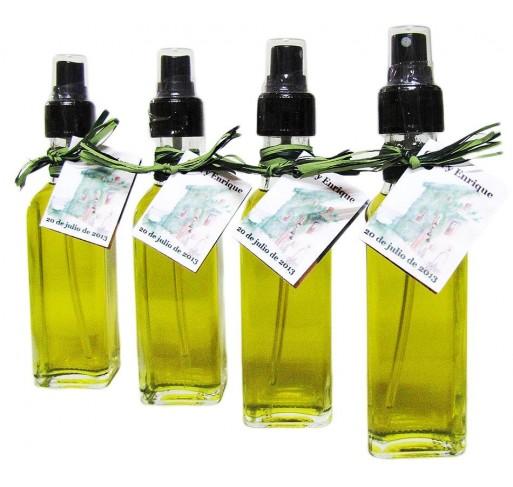 Mini glass bottle Marasca Spray 100 ml. Extra virgin olive oil