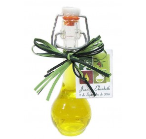 Mini glass bottle Raquel 40 ml. Extra virgin olive oil