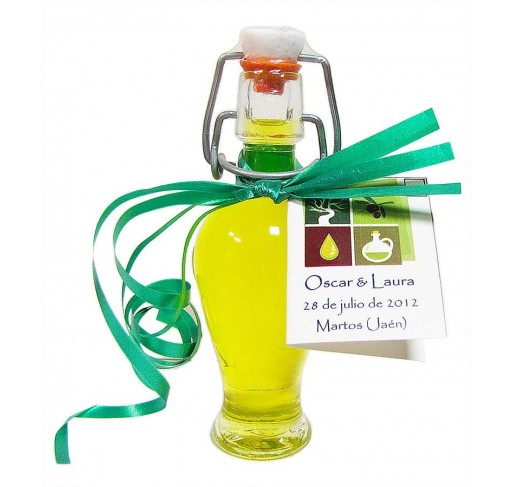 Mini glass bottle Anfora 40 ml. Extra virgin olive oil