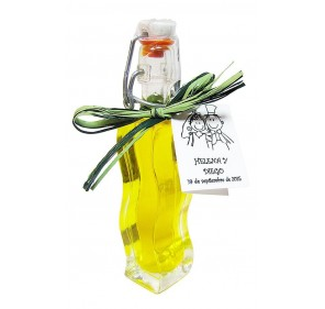 Mini glass bottle Onda 40 ml. Extra virgin olive oil