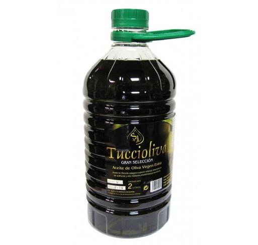 Tuccioliva. Aceite de oliva Picual. 2 Litros.