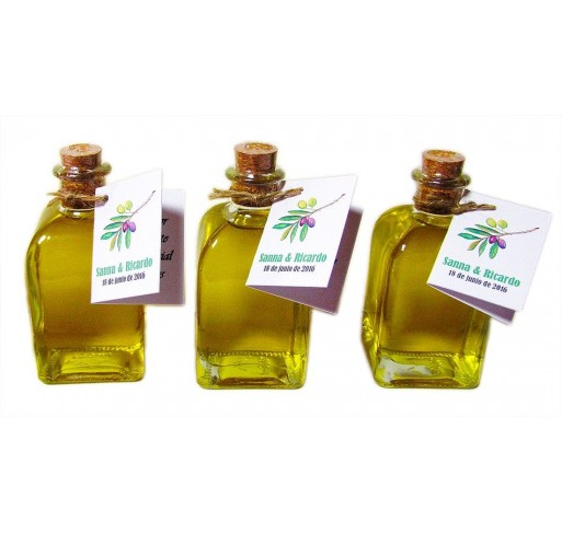 Mini glass bottle Frasca 100 ml. Extra virgin olive oil