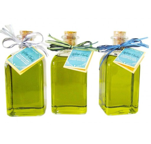 Mini glass bottle Frasca 250 ml. Extra virgin olive oil.