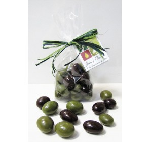 Mini bag with Olives bombon 100gr