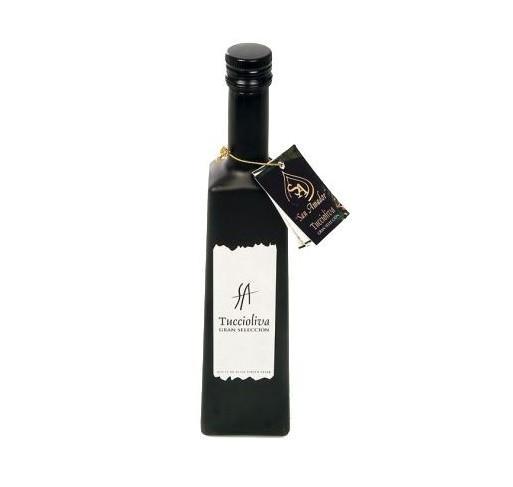 Tuccioliva. Picual Olive oil. Solitude bottle 500 ml.