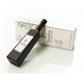 Tuccioliva. Picual Olive oil. Gift box. Solitude 500 ml glass bottle