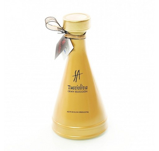 Tuccioliva. Picual Olive oil. Olivia Gold Bottle 500 ml