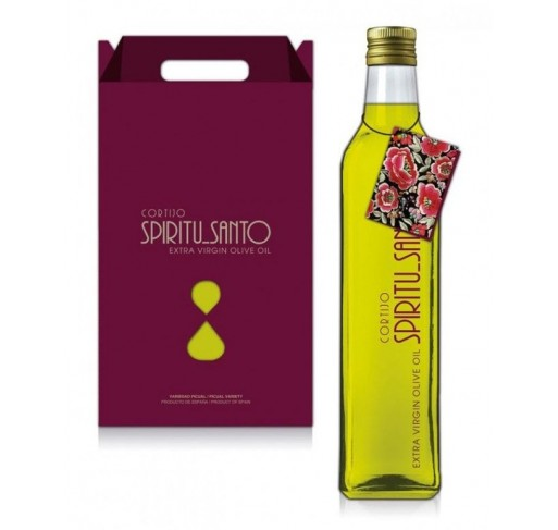 Spiritu Santo. Gift box with 3 Marasca bottles of 500ML