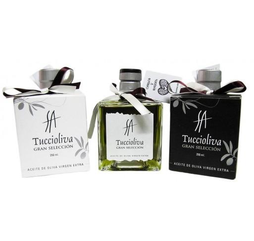 Botelita Mystic. Aceite de oliva picual Tuccioliva. 250 ml.