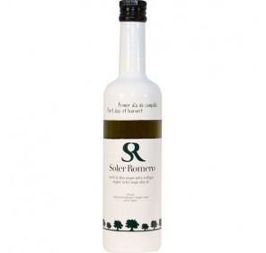 Soler Romero Ecologico. Aceite de oliva Picual. Primer día de campaña. 500 ml