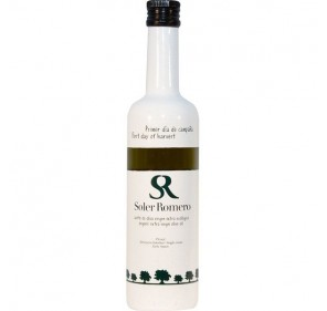 Soler Romero Organic. Picual Olive oil. First day of harvest. 500 ml