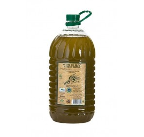 Verde Salud Organic. Picual Olive oil. Box with 3 bottles of 5 liter.