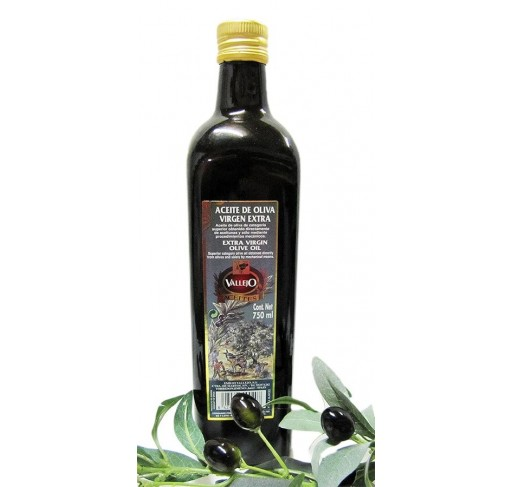 Vallejo. Aceite de oliva Picual. 6 botellas de 750 ML