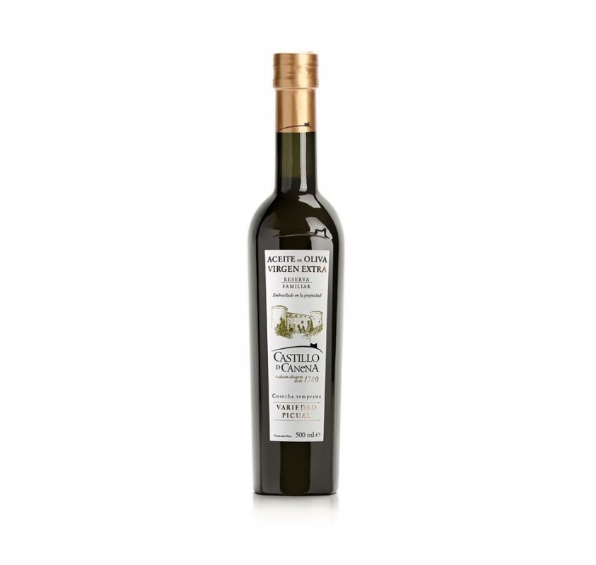 Castillo de Canena, reserva familiar, picual. 500 ml.