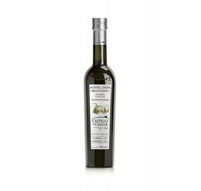 Castillo de Canena reserva familiar arbequina. 500 ml.
