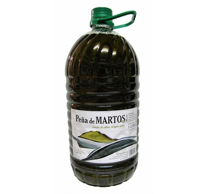 Peña de Martos. Picual Olive Oil. 5 Liter.