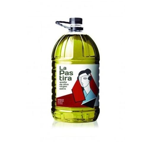 La Pastira. Aceite de oliva virgen extra.Picual. 3X5 Litros.