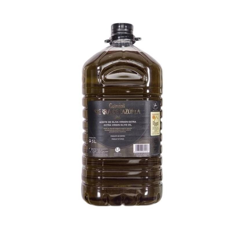 Sierra de Cazorla. Aceite de oliva Picual. 5 litros.
