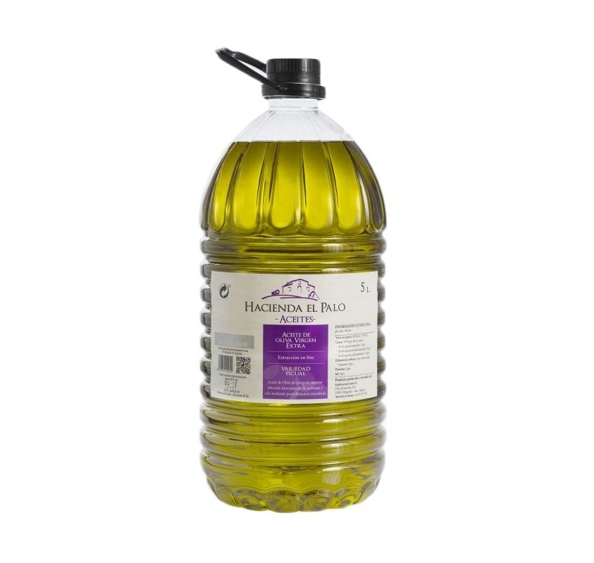 Hacienda el Palo. Picual Olive oil. 3 bottles of 5 liters