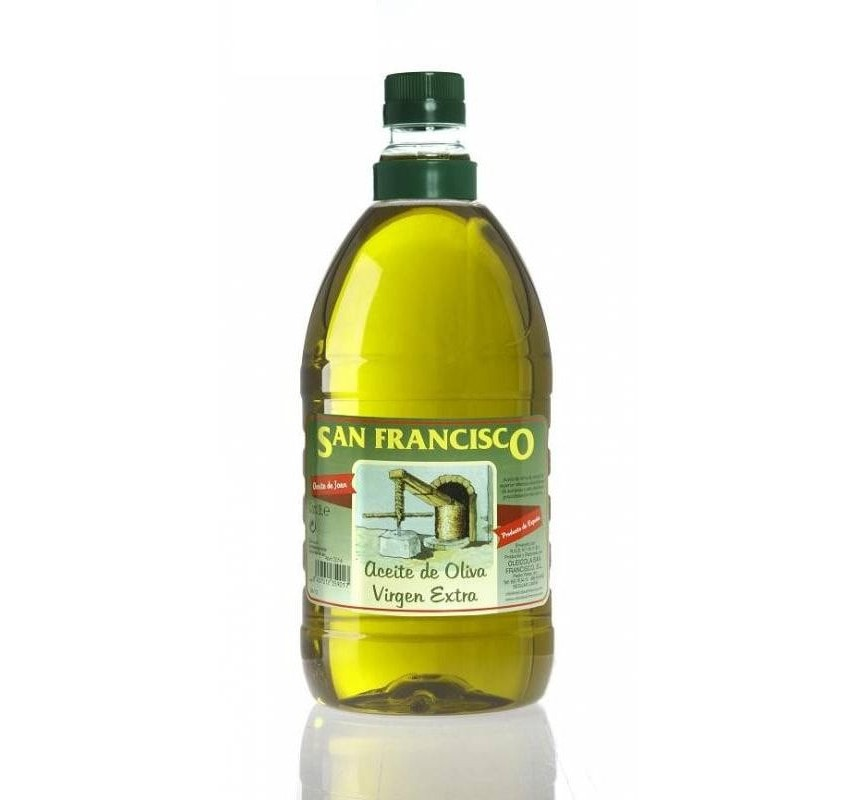 San Francisco. Aceite de oliva Picual. 8 Garragas de 2 Litros